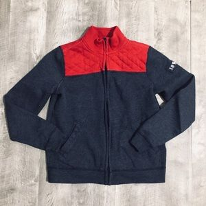 ABERCROMBIE KID'S Youth Boy's Full Zip Sweater